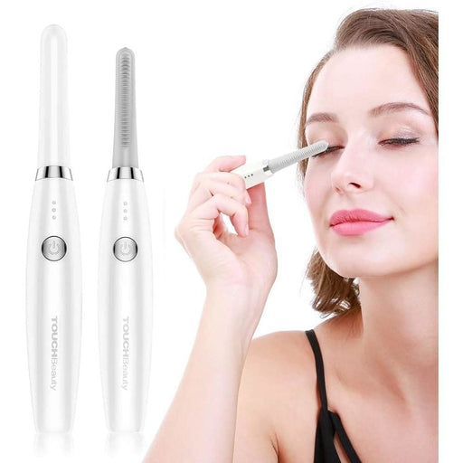 Electric Heated Eyelash Curler, TOUCHBeauty Rechargeable Lash Curler, Heated Eyelash Curler, Eye Lash Curler-Fast Heating Up