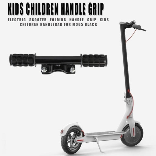 New Electric Scooter Folding Handle Grips Universal Kids Children Handlebar Skateboard Accessories for M365 Black