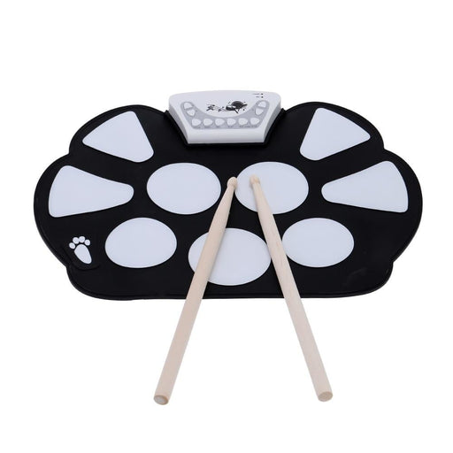 Electronic Drum Set Roll up Drum Pad Silicon Percussion Pad Drum with Drumstick High Quality Percussion Instruments
