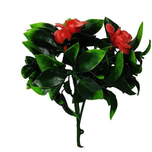 Elegant Red Rose Vertical Garden / Green Wall Uv Resistant