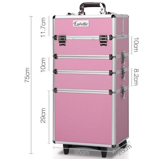 Embellir 7 in 1 Portable Cosmetic Beauty Makeup Trolley -