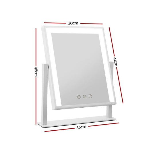 Embellir Hollywood Makeup Mirror with Dimmable Bulb Lighted