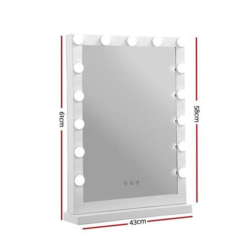 Embellir Hollywood Makeup Mirror with Light 15 Led Bulbs