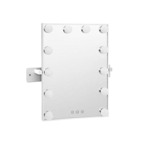 Embellir Hollywood Wall mirror Makeup Mirror With Light Vanity 12 LED Bulbs