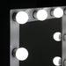 Embellir Make Up Mirror with LED Lights - White goslash fast delivery fast delivery