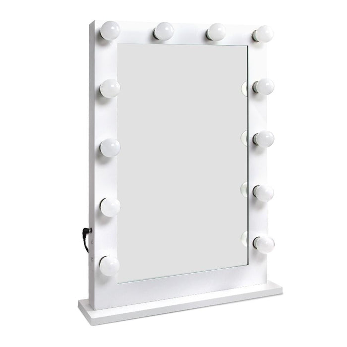 Embellir Make Up Mirror with LED Lights - White