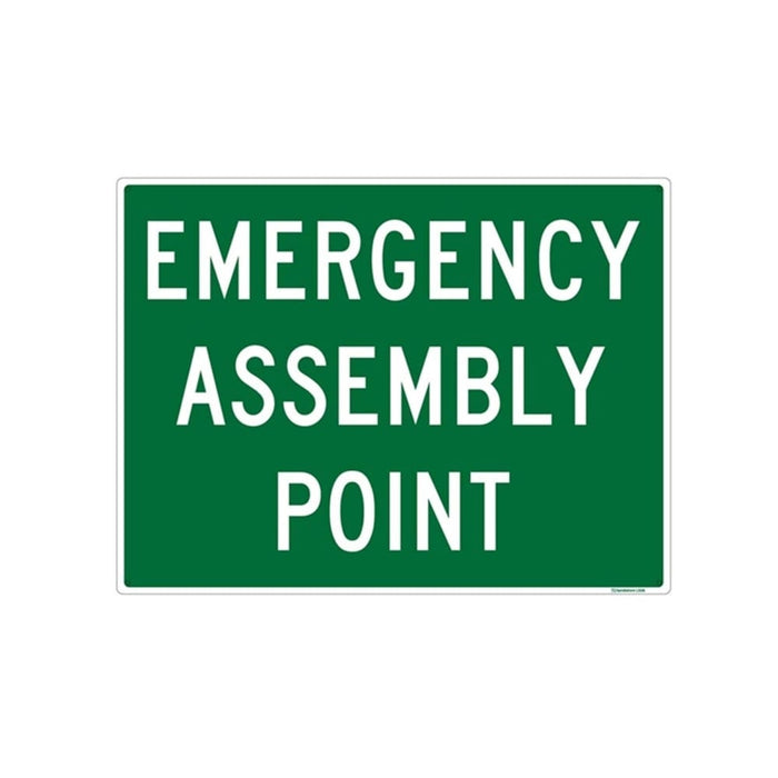 Emergency Assembly Point Sign goslash fast delivery fast delivery
