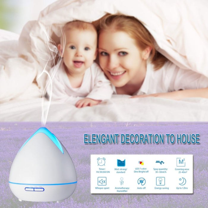 Essential Oils Ultrasonic Aromatherapy Diffuser Air