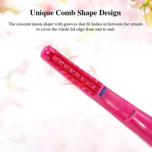 TOUCHBeauty Eyelash Curler Heated 15s Pen Style Mini Portable Long Lasting Curled Lashes Makeup Tools TB-0726