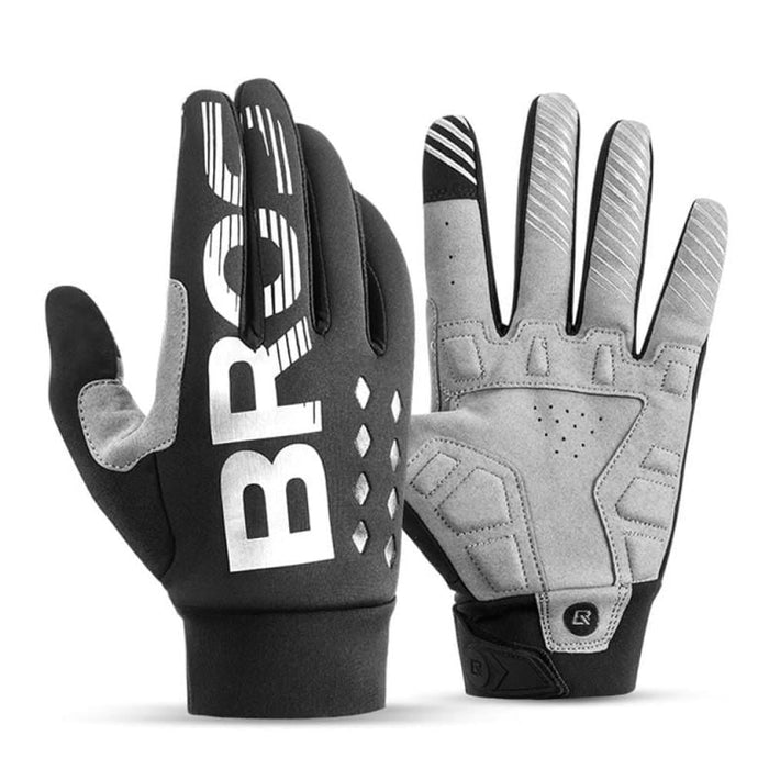 ROCKBROS Cycling Gloves Shockproof Wear Resistant SBR Men