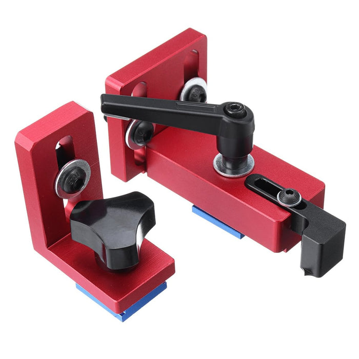 Fixed T-Slot Miter Track Stop Chute Stopper 30/45 Manual Woodworking DIY Tools