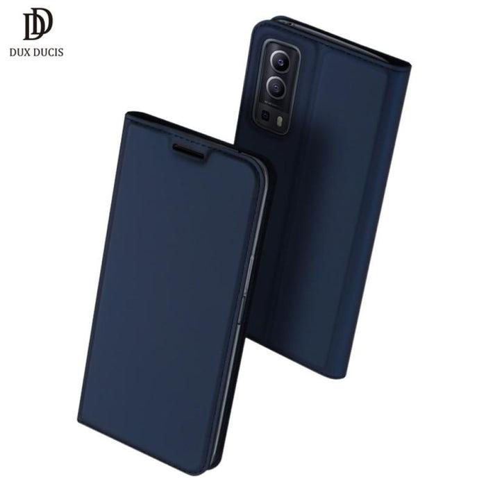 Vivo iQOO Z3 Case 6.58 DUX DUCIS Skin Pro Series Flip Wallet