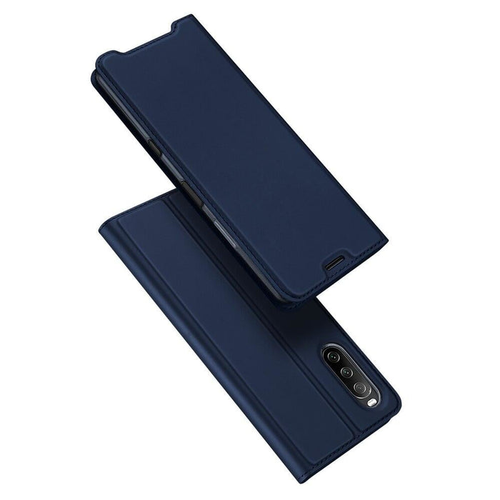 DUX DUCIS Skin Pro Series Flip Wallet Leather Cover for Sony