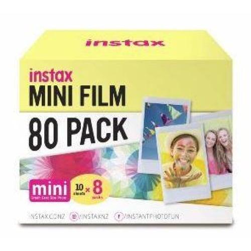 Fujifilm Instax Mini Film 80 Pack Instant Camera & Film