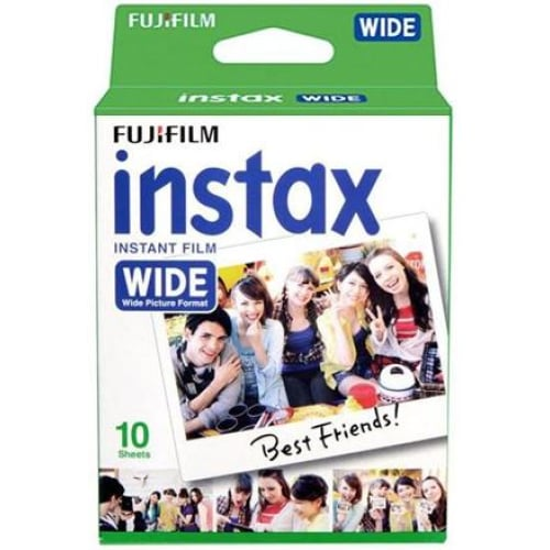 Fujifilm Instax Wide Film 10 Pack Instant Camera & Film