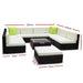 Gardeon 10pc Outdoor Furniture Sofa Set Wicker Garden Patio