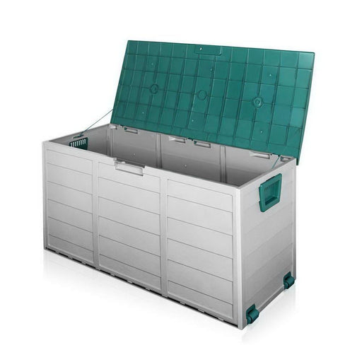 Giantz 290l Outdoor Storage Box - Green - Home & Garden >