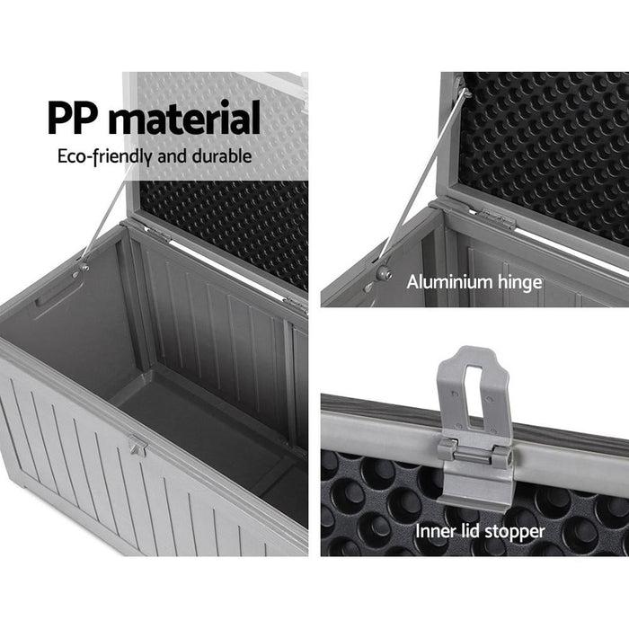 Gardeon Outdoor Storage Box Bench Seat 190l - Home & Garden
