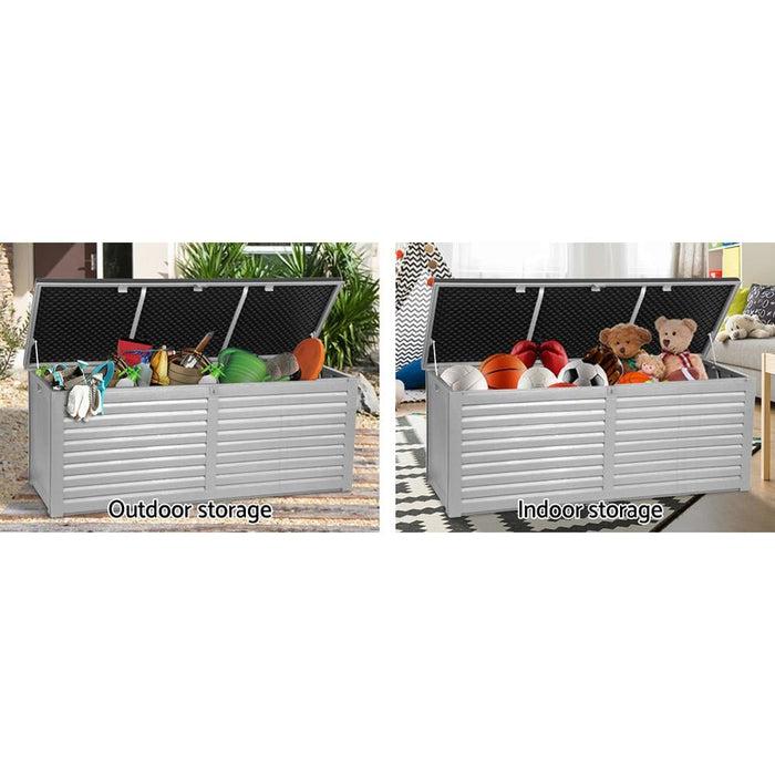 Gardeon Outdoor Storage Box Bench Seat 390l - Home & Garden