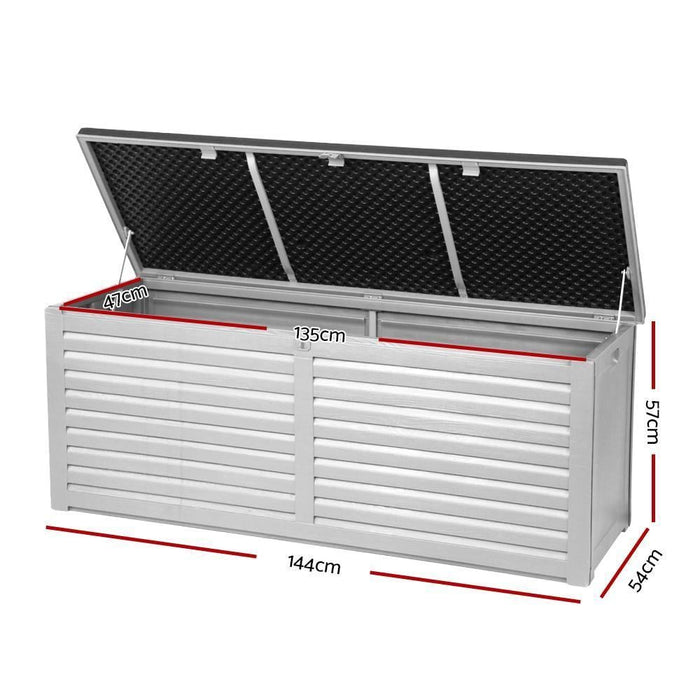 Gardeon Outdoor Storage Box Bench Seat 390L goslash fast delivery fast delivery