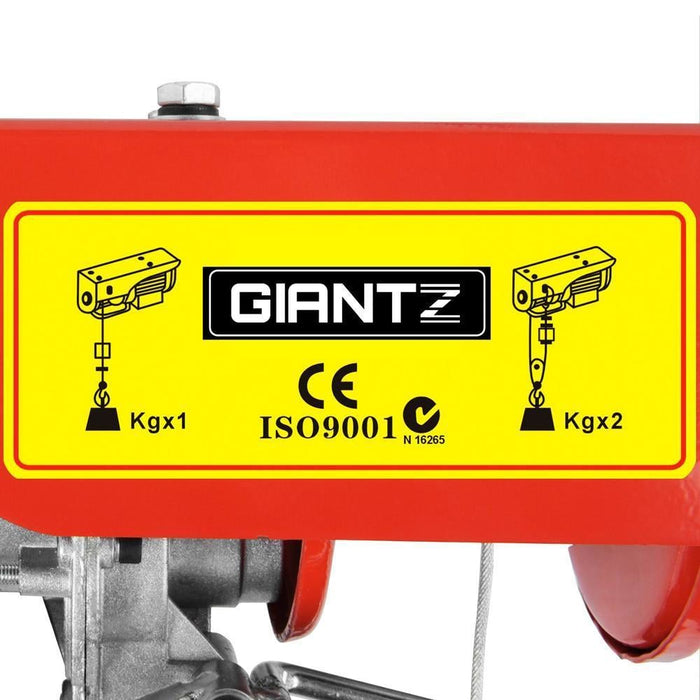 Giantz 1200w Electric Hoist winch goslash fast delivery fast delivery