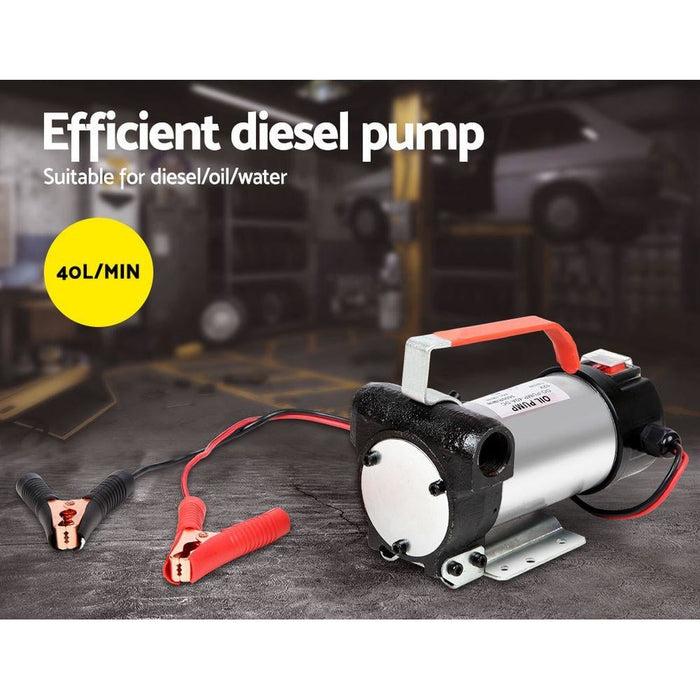 Giantz 12v Bio Diesal Transfer Pump - Tools > Pumps
