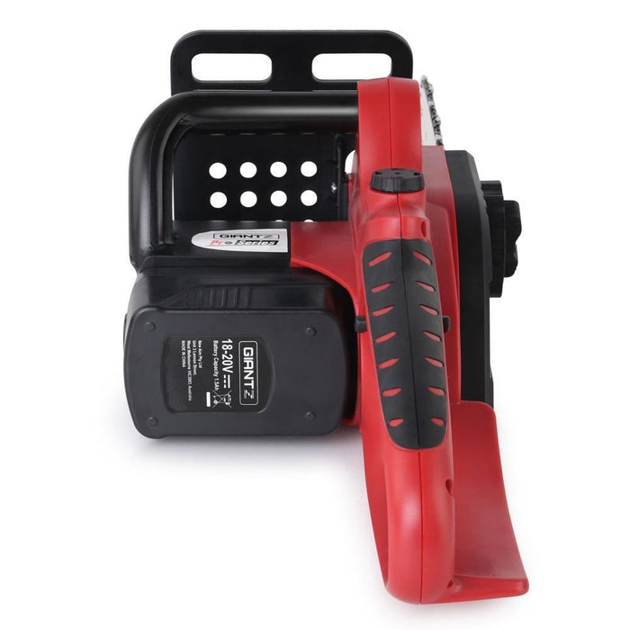 Giantz 20V Cordless Chainsaw - Black and Red goslash fast delivery fast delivery