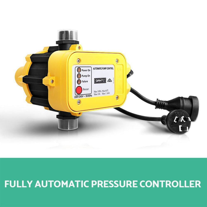 Giantz 2300W High Pressure Garden Jet Water Pump with Auto Controller goslash fast delivery fast delivery