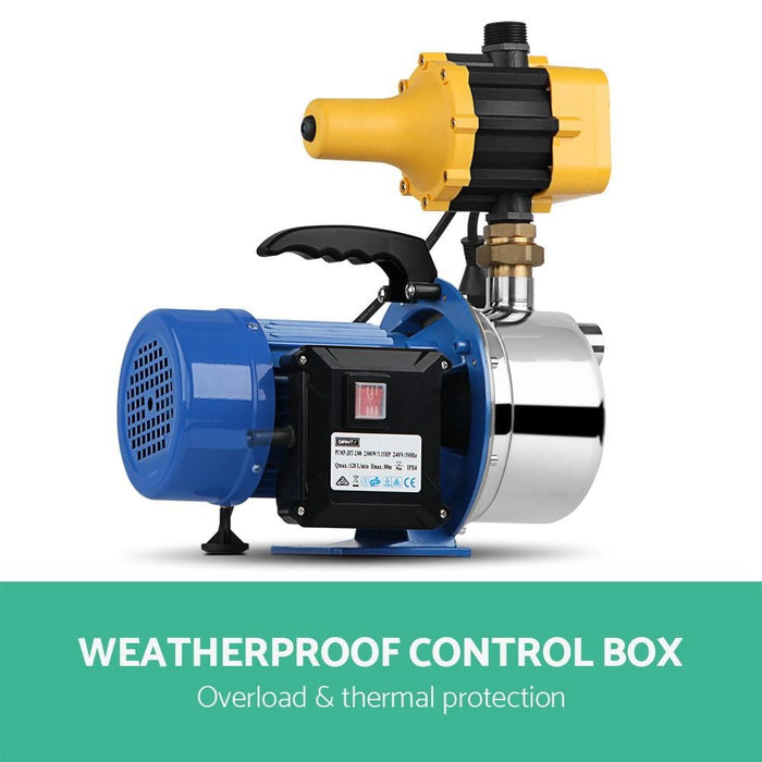 Giantz 2300w High Pressure Garden Jet Water Pump with Auto