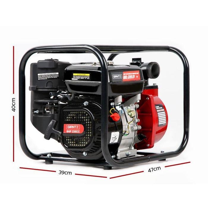 Giantz 2inch High Flow Water Pump - Black & Red - Tools >