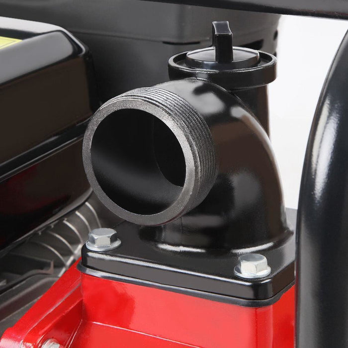 Giantz 2inch High Flow Water Pump - Black & Red goslash fast delivery fast delivery