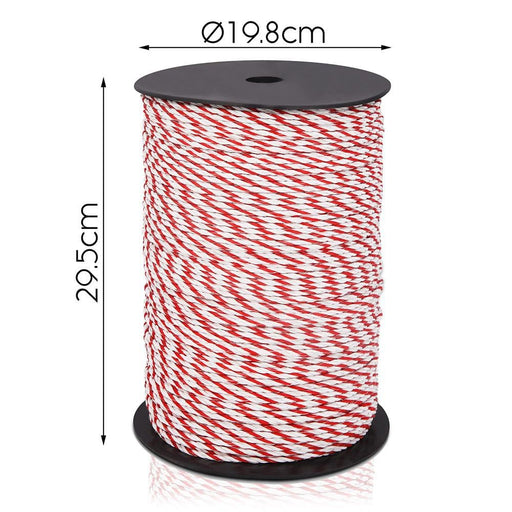 Giantz 500m Stainless Steel Polywire Poly Tape Electric