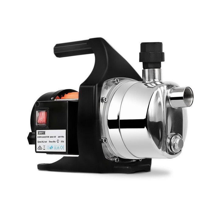 Giantz 800W Stainless Steel Garden Water Pump goslash fast delivery fast delivery