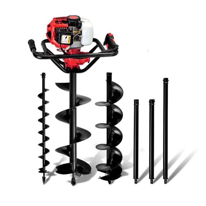 Giantz 88cc Petrol Post Hole Digger Drill Borer Fence