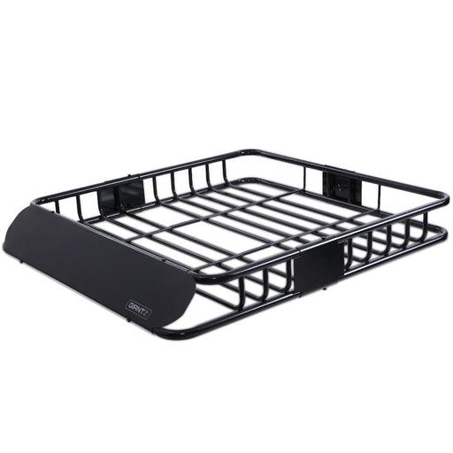 Giantz Universal Roof Rack Basket Car Luggage Carrier Steel Vehicle Cargo 112cm