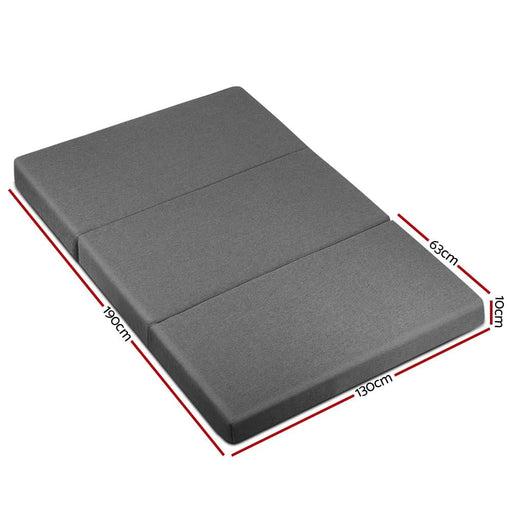 Giselle Bedding Double Size Folding Foam Mattress Portable