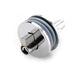 NAIERDI-501 Glass Lock Zinc Alloy Showcase Push Glass Display Cabinet Door Cylinder Locks Sliding Glass Push Door Hardware