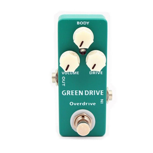 MOSKY Green Drive Overdrive Mini Single Guitar  Effect Pedal True Bypass Guitar Parts & Accessories