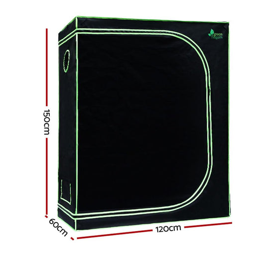 Green Fingers 120cm Hydroponic Grow Tent - Home & Garden >