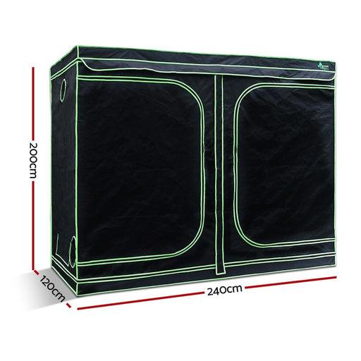 Green Fingers 240cm Hydroponic Grow Tent - Home & Garden >