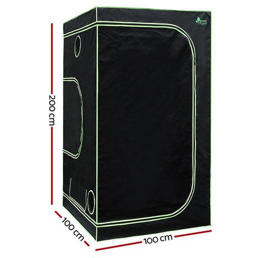 Green Fingers Weather Proof Lightweight Grow Tent - Home &