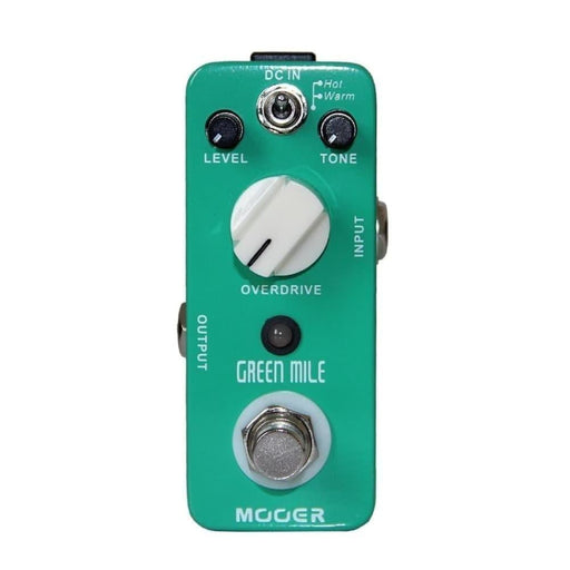 Mooer Green Mile Micro Guitar Effect Mini Overdrive Electric Guitar Effect Pedal True Bypass Full Metal Shell Guitar Accessories