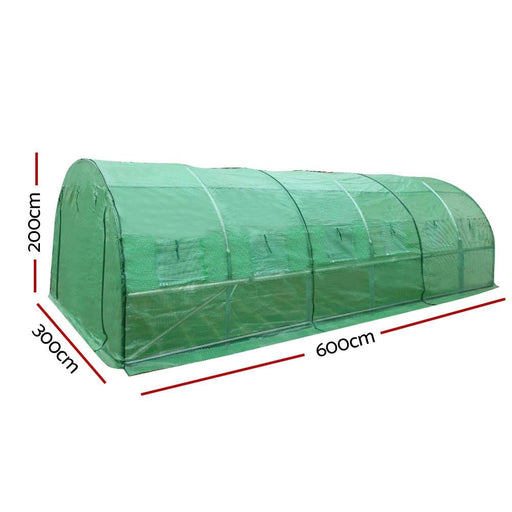 Greenfingers Greenhouse 6mx3m Garden Shed Green House