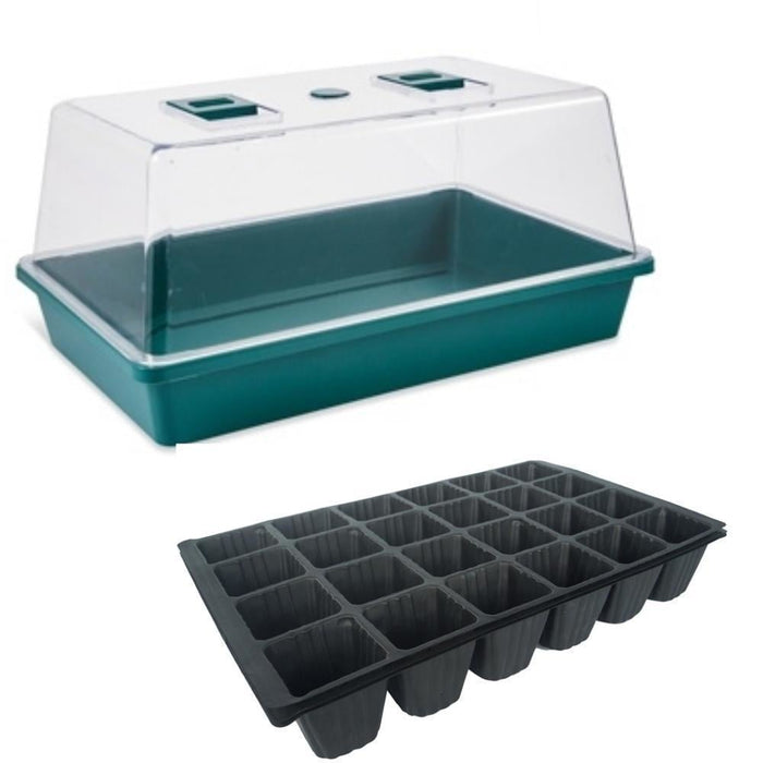 Greenhouse with Seed Tray goslash fast delivery fast delivery