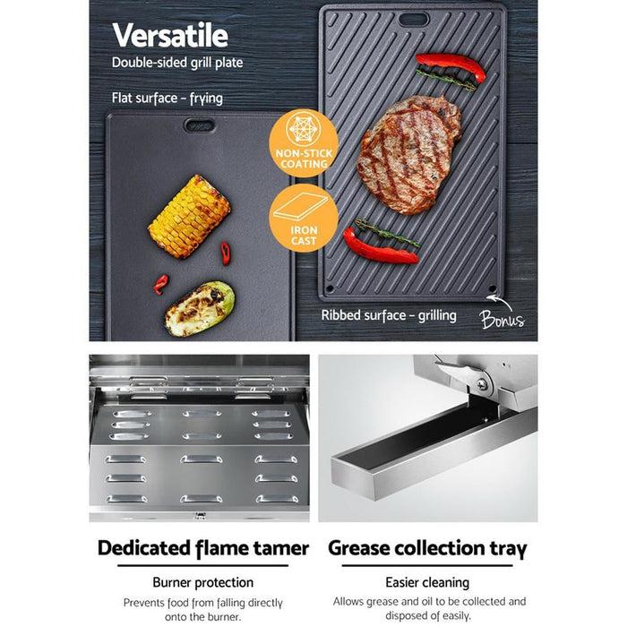 Grillz Portable Gas Bbq - Home & Garden > BBQ