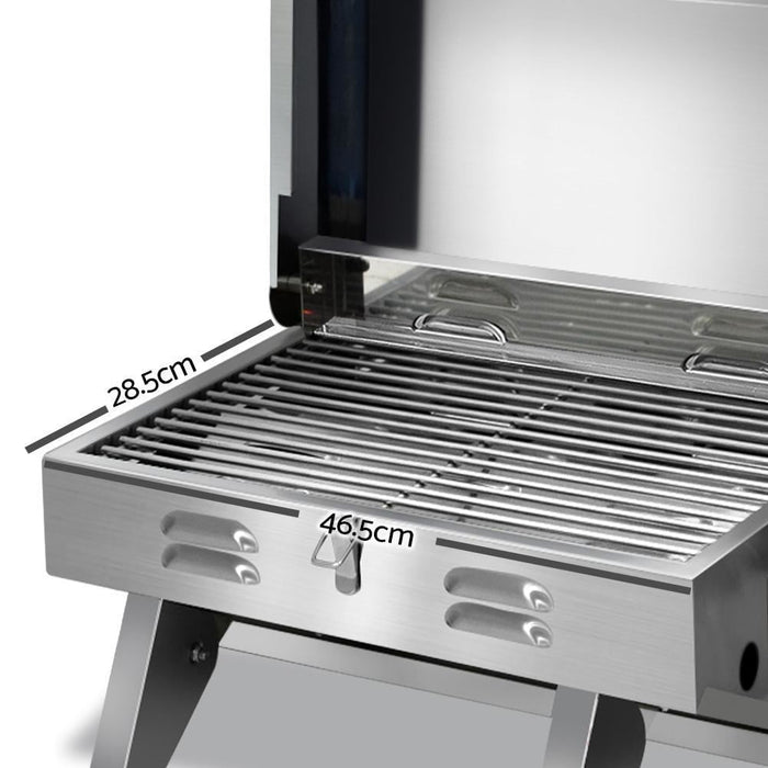 Grillz Portable Gas BBQ goslash fast delivery fast delivery