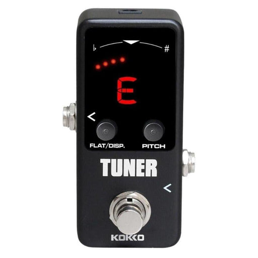 KOKKO Guitar Chromatic Tuner Effect Pedal High Precision Tuning for Guitar Bass Violin Ukulele Full Metal Shell True Bypass
