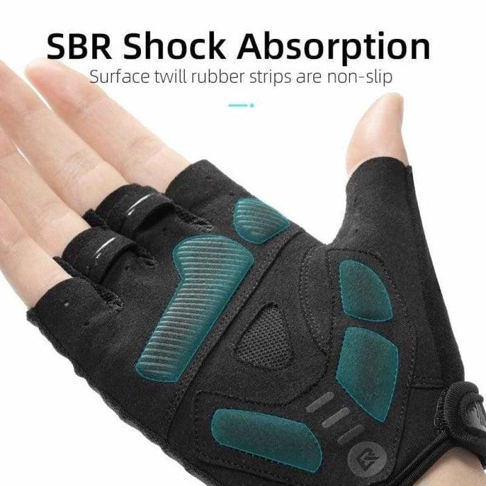 ROCKBROS Summer Cycling Half Finger Gloves Anti-slip