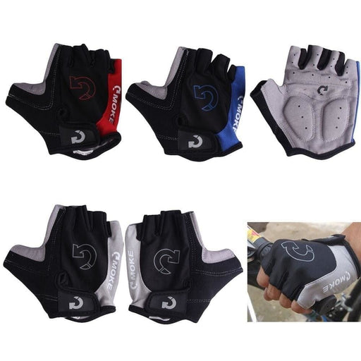Half Finger Cycling Gloves Men Women Summer Outdoor Sports Anti Slip Gel Pad Motorcycle MTB Road Bike Gloves for Bicycles S-XL