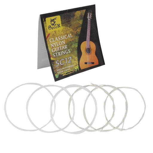 High Quality SC12 Classical Nylon Guitar Strings 6pcs/set Silver  Plating Super Light Guitar Strings for Classic Acoustic Guitar